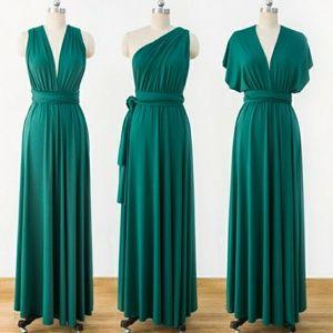 c0663ef9103 Tart Dresses - Tart Maxi Infinity Dress Emerald Green